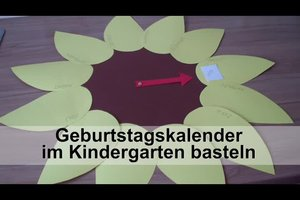 Geburtstagskalender im Kindergarten basteln - so halten Sie den Nachwuchs bei Laune