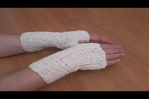 Strickanleitung für Handstulpen - so geht's