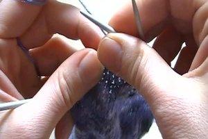 Bumerangferse - Anleitung zum Stricken