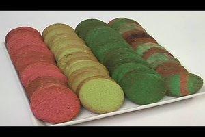 Lebensmittelfarbe zum Backen verwenden - Rezept für bunte Kekse