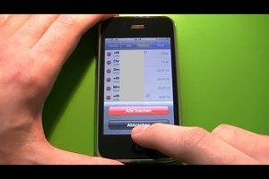 Anrufliste beim iPhone einzeln löschen - hilfreiche Hinweise