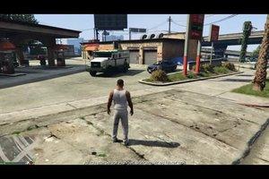 In GTA 5 einen Geldtransporter finden und öffnen