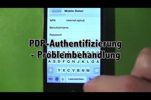 PDP-Authentifizierung - Problembehandlung