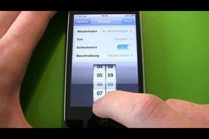 Beim iPhone die Weckerfunktion nutzen - Anleitung