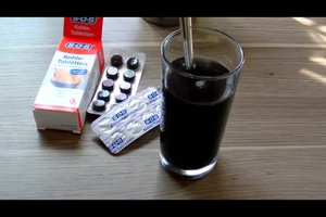 Kohletabletten gegen Durchfall richtig anwenden