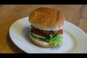 Grünkern-Burger - ein veganes Rezept
