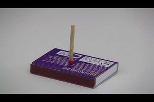 Zaubertricks mit Auflösung - so geht der Streichholz-Trick