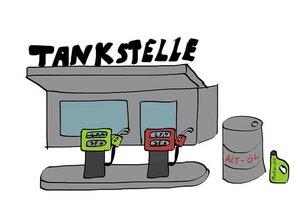 Altöl entsorgen an der Tankstelle - das sollten Sie beachten
