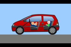 Kindersitz vorne erlaubt - das sollten Sie jedoch beachten