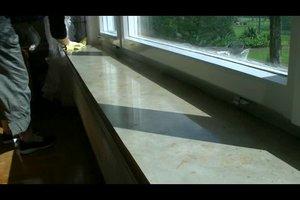 Fensterbänke aus Stein richtig pflegen