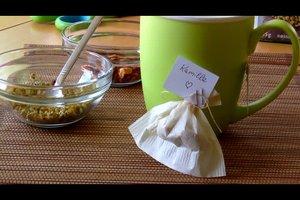 Teebeutel selber machen - so geht's