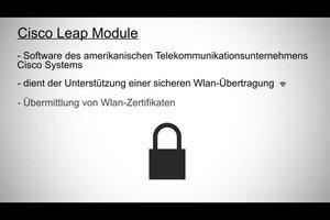 Cisco Leap Module - Sinn und Zweck des Programms
