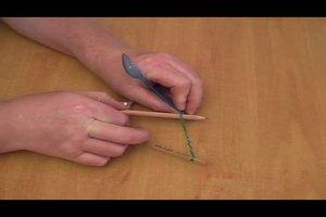 Mini-Katapult - eine Bauanleitung