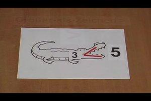 Kleiner-und-Größer-Zeichen unterscheiden - für Kinder einfach erklärt