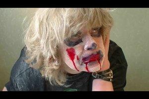 Zombie schminken mit einfachen Mitteln - so gelingt's