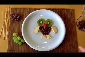 Fantasie auf dem Teller - Obstbilder