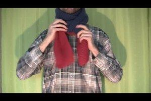 Schals binden - so wird´s gemacht