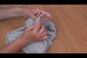 Schalkragen stricken - Anleitung
