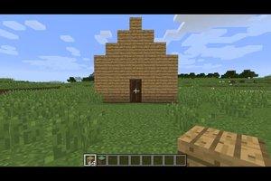 Dächer in Minecraft bauen - so geht's