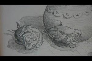 Stillleben zeichnen - so geht´s