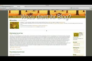 Wie richte ich einen Blog ein? - So geht´s