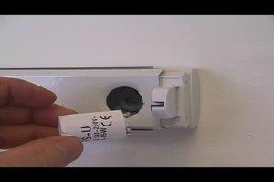 Starter für Neonröhren ersetzen