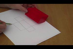 Körpernetze von geometrischen Körpern zeichnen - Anleitung