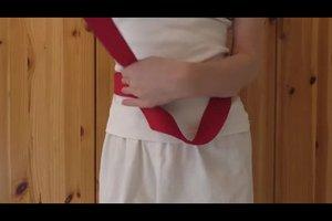 Karate: Gürtel - Länge und Bindetechnik