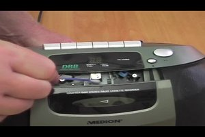 Tonkopf reinigen beim Kassettenrekorder - so geht's