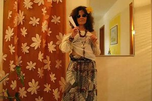Verkleidung als Hippie - Kostüm selber machen