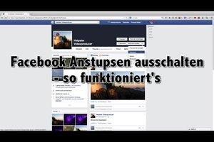 Facebook Anstupsen ausschalten - funktioniert's