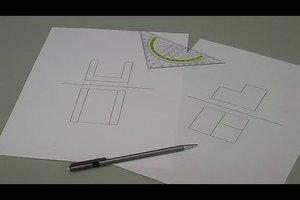 Zweitafelbild zeichnen