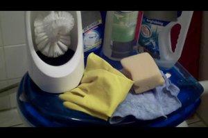 Toilette reinigen - so geht´s richtig