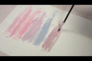 Farben mischen - Rosa von Alt- bis Hellrosa gelingt so