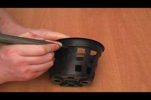 Bauanleitung für ein Vanda-Körbchen
