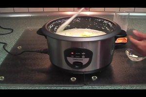Milchreis - im Reiskocher geht es so