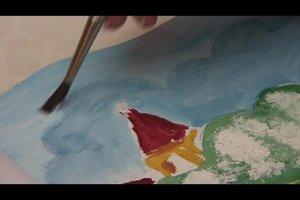 Malen mit Acryl - Techniken für Fortgeschrittene