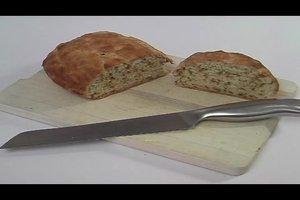 Zwiebelbrot ohne Hefe - ein einfaches Tassenrezept
