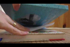 Blatt zerknittert - so können Sie es retten