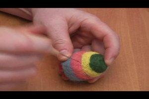Filzen - eine Anleitung zu Ostern und der passenden Dekoration