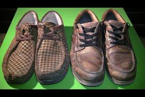 Lederzeichen in Schuhen - so deuten Sie sie richtig