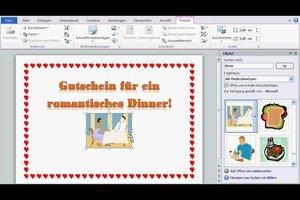 Eine Gutschein-Vorlage in Microsoft Word erstellen - so geht´s