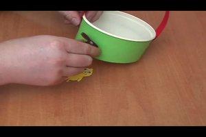 Osternestchen selber basteln - Anleitung