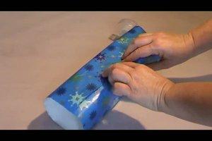 Wie packt man ein Geschenk ein?