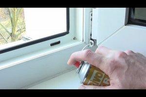 Kunststofffenster einstellen - Anleitung