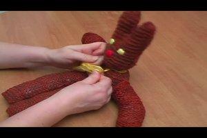 Strick-Osterhase selber machen - eine Anleitung