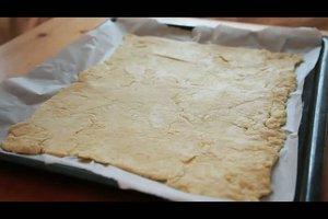 Pizzateig ohne Hefe - Rezept