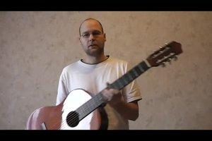 Wie befestigt man den Ggitarrengurt an der Gitarre? - so geht´s