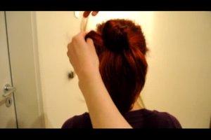 Frisuren zum Dirndl selber machen - Anleitung