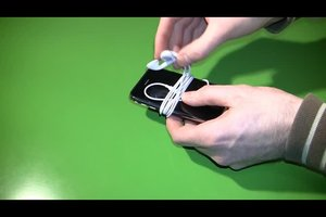 Kopfhörer - Kabelsalat verhindern
